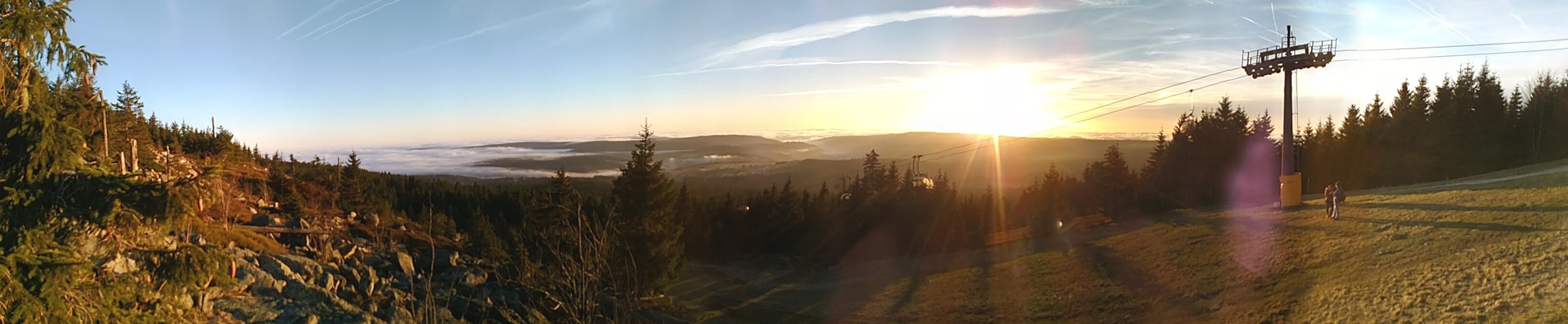 Ochsenkopf - Panorama Herbst